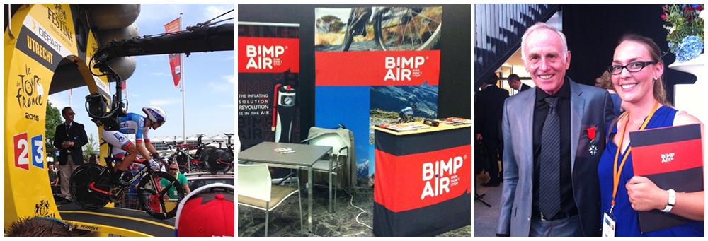 Bimp'Air à Utrecht à la rencontre acheteurs/sport et au départ du Tour de France 2015