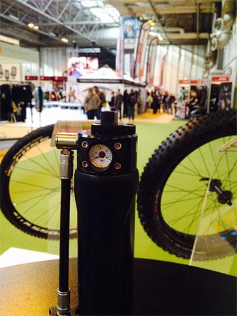 La capsule BIMP'AIR sur le Cycle Show 2015 à Birmingham