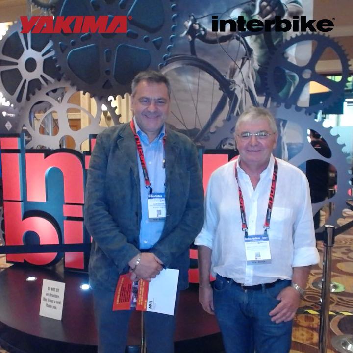 L'équipe BIMP'AIR à l'Interbike 2015 à Las Vegas