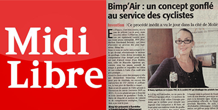 Bimp'Air : Concept gonflé au service des cyclistes