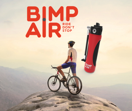 Nancy Aghilone présente la capsule BIMP'AIR au Bike Motion Benelux 2015