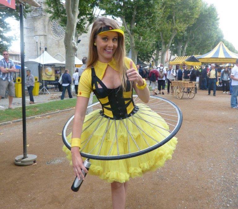 Lancement du Tour de France 2014 pour Bimp'Air