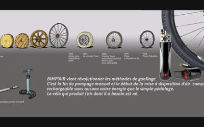 Bimp'Air, la revolution dans les méthodes de gonflage !