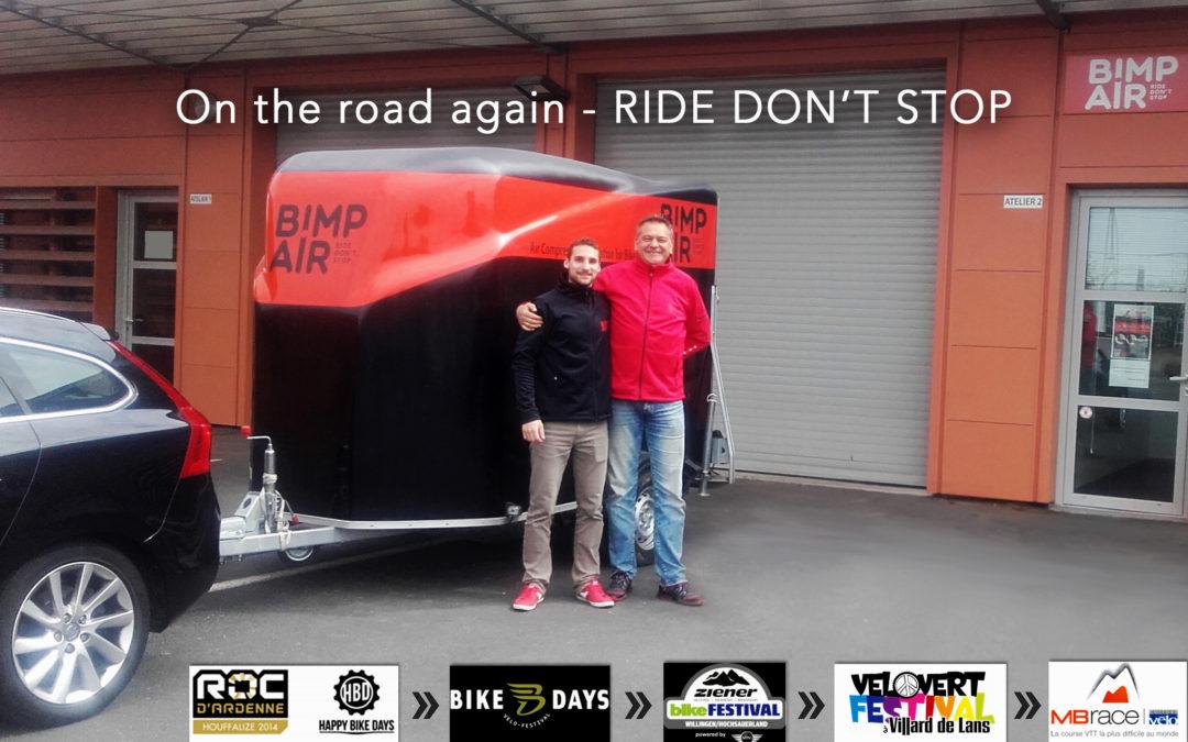 A VOS AGENDAS ! BIMP'AIR ROAD SHOW 2016, TOME 1