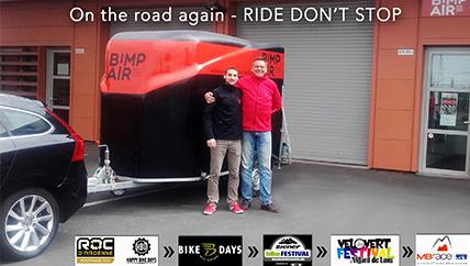 Le road show 2016 de Bimp'Air