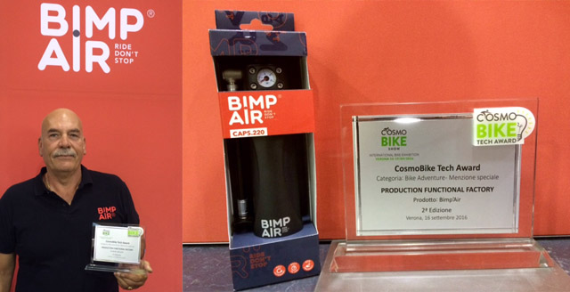 Prix Bimp'Air aux CosmoBike Tech Awards