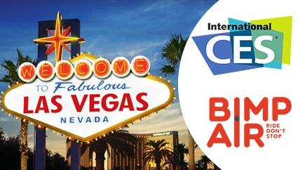 Bimp'Air au CES 2017 à Las Vegas
