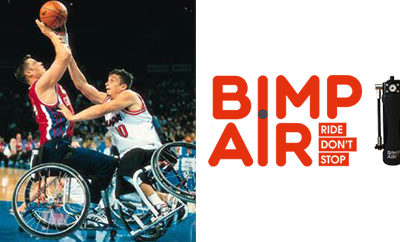 Bimp'Air: the inflation accessory applicable for wheelchairs