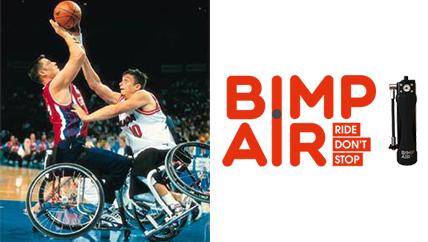 Bimp'Air : l'accessoire gonflage qui se révèle d'intérêt pour les fauteuils roulants