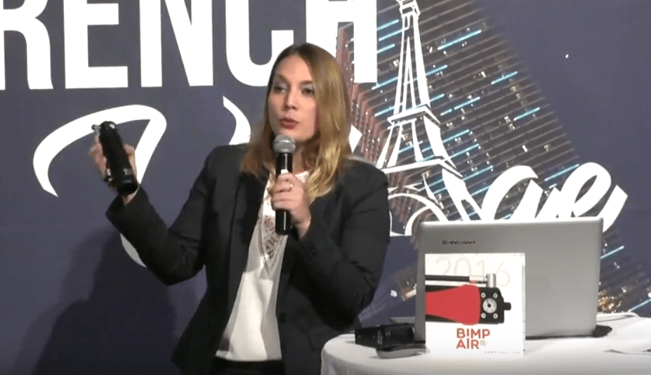 Pitch Bimp'Air au French Village du CES, Las Vegas 2017