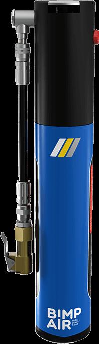 La Solution idéale pour la Pression des Pneus. Régler la pression des pneus avec la capsule bimpair rechargeable en co2