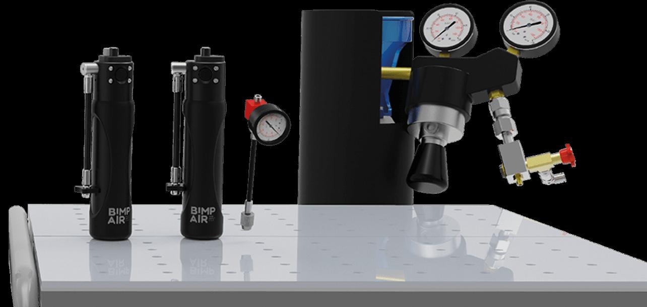la solution idéale pour le réglage de vos suspensions. rechargez vos capsules en azote avec le pack pro azote