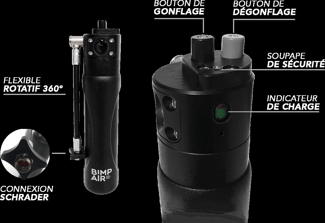 la solution idéale pour le réglage de vos suspensions. capsules bimpair rechargeables en air ou en azote