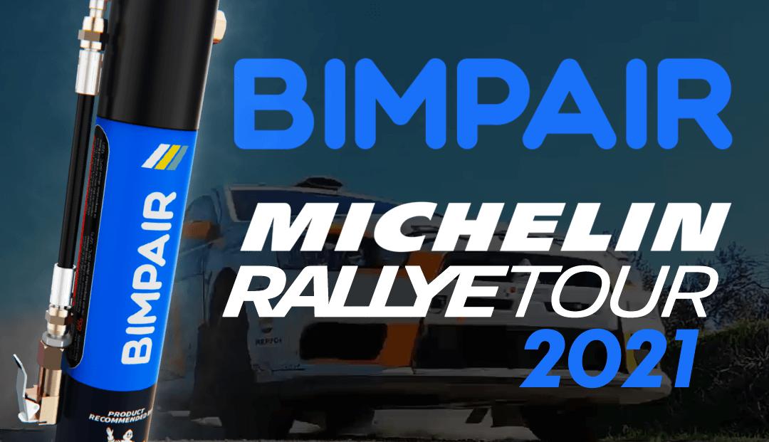 BIMPAIR PARTENAIRE DU MICHELIN RALLYE TOUR 2021 !